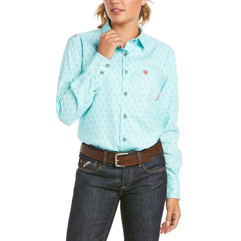 Ariat Women's FR Gemini DuraStretch Work Shirt