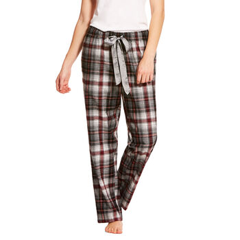 HEATHER GREY OMBRE PLAID