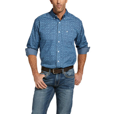 Wrinkle Free Mallard Classic Fit Shirt