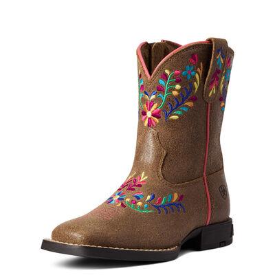 Child Wild Flower Western Boot