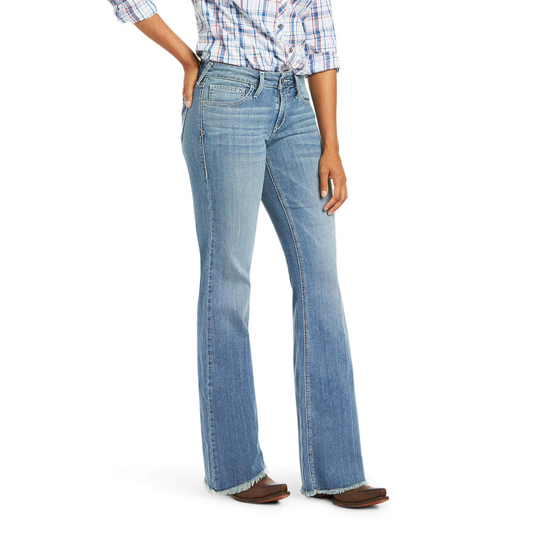 Ariat Women's Trouser Perfect Rise Beatrice Wide Leg Jeans