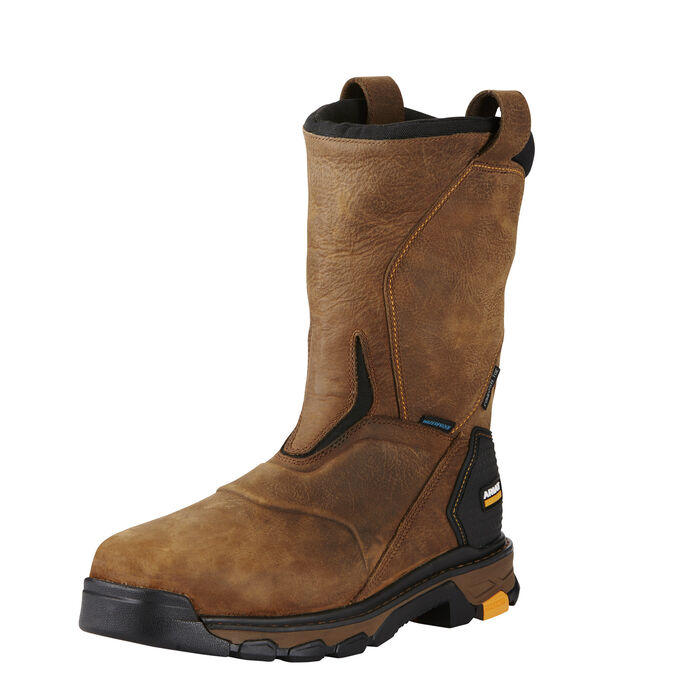 Intrepid Pull-On Waterproof Composite Toe Work Boot