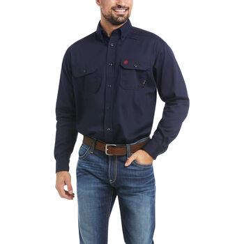 FR Solid Work Shirt