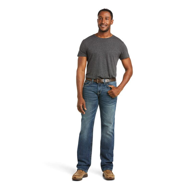 M7 Rocker Stretch Coltrane Stackable Straight Leg Jean