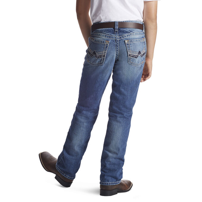 B5 Slim Charger Stackable Straight Leg Jean