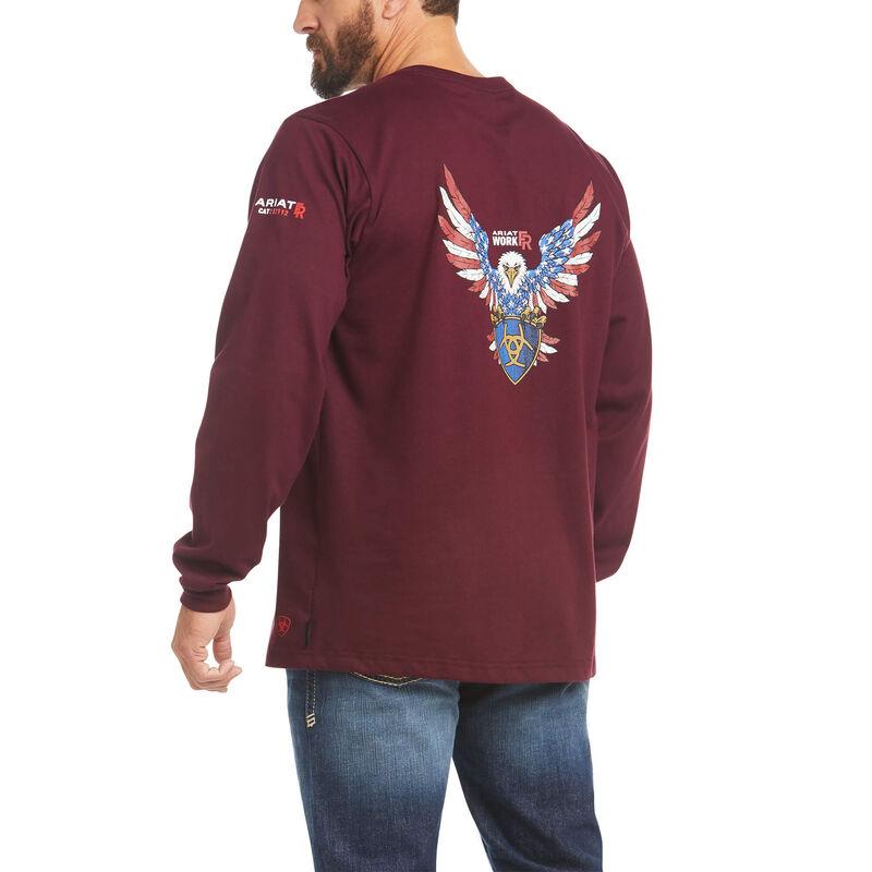 FR American Raptor Graphic T-Shirt