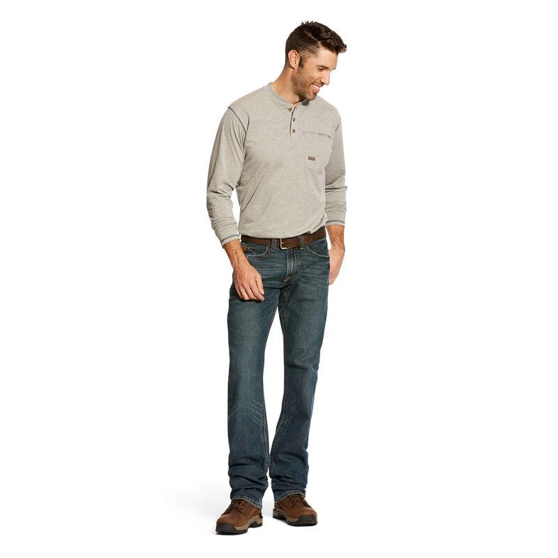 Rebar M5 Slim DuraStretch Edge Stackable Straight Leg Jean