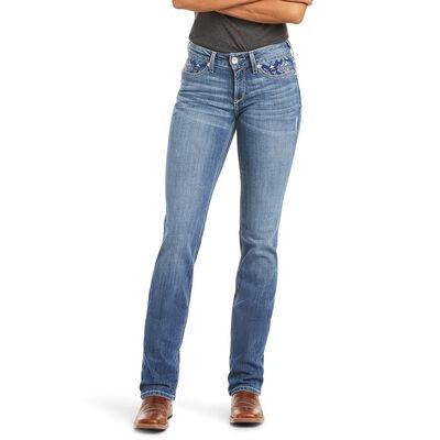 R.E.A.L. Perfect Rise Stretch Mika Straight Jean