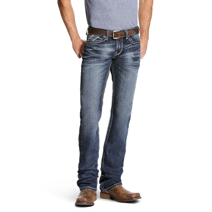 M7 Rocker Collin Stretch Stackable Straight Leg Jean