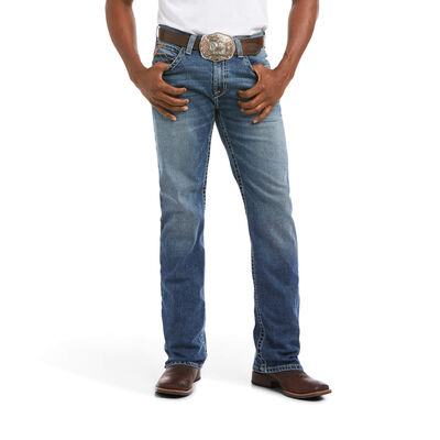 M2 Relaxed Stretch Riverside Stackable Boot Cut Jean