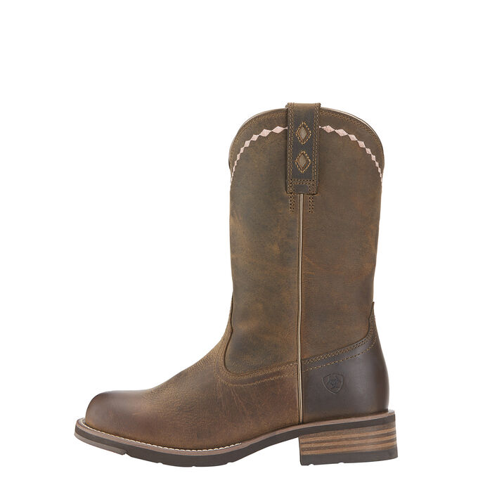 Unbridled Roper Western Boot