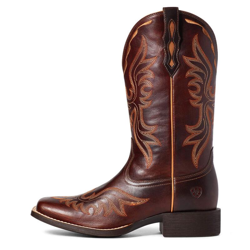 Round Up Flutter Western Boot