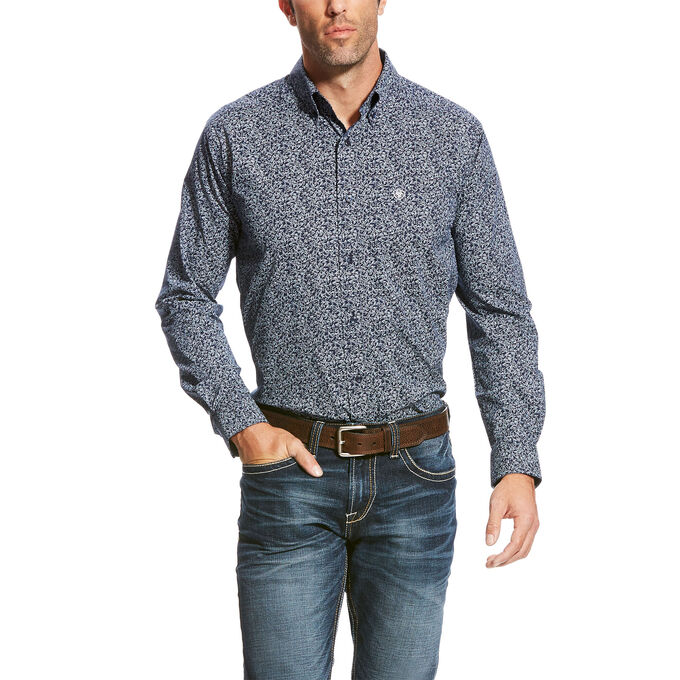 Papson Stretch Fitted Shirt