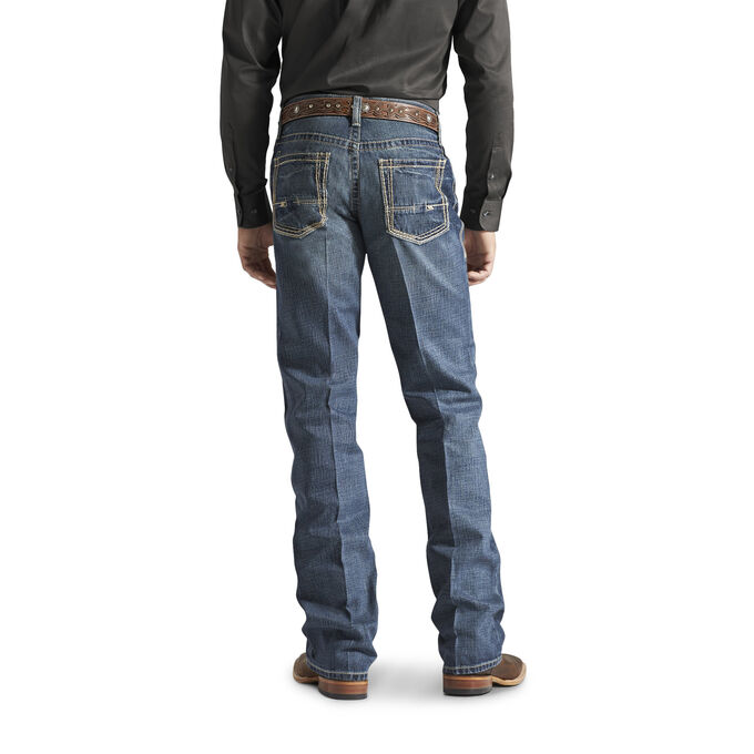M4 Low Rise Boundary Boot Cut Jean