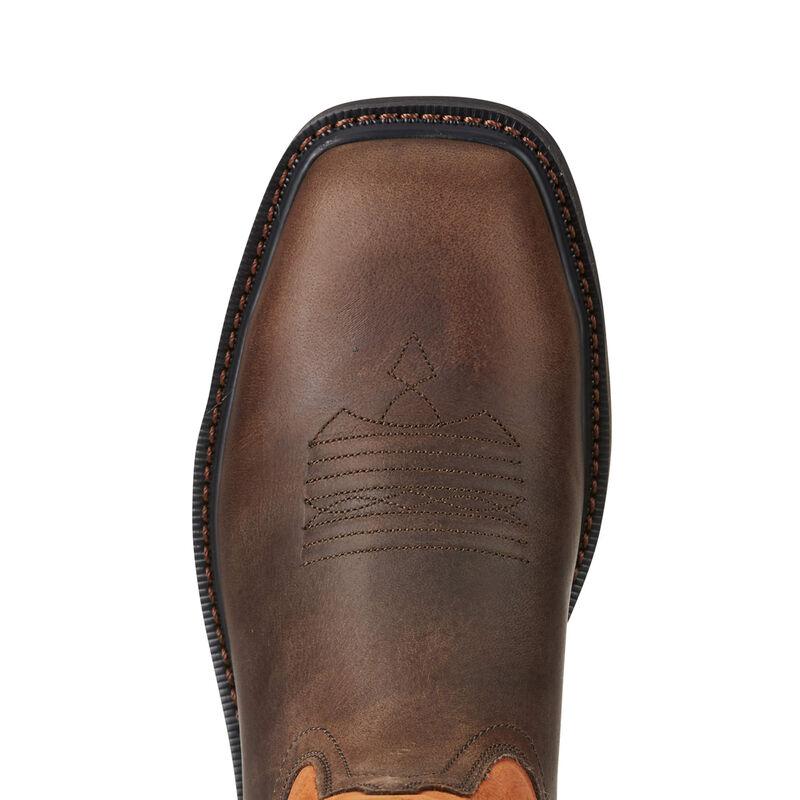 10021108 Ariat Men/'s Groundbreaker Western Work Boot Steel Toe