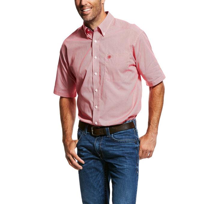 Wrinkle Free Pantano Print Shirt