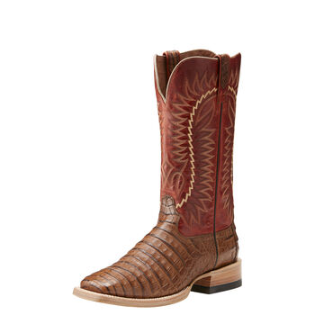 Relentless Gold Buckle Western Boot
