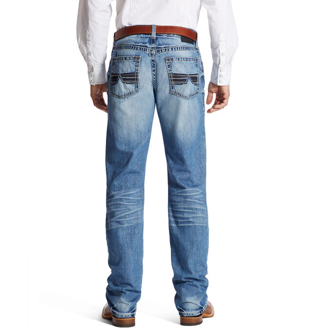 M4 Low Rise Shadow Boot Cut Jean
