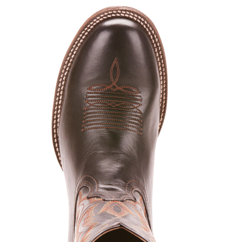 Details about  /Ariat Mens Circuit Competitor Round Toe Boots Weathered Tan #10025080 Many Sizes