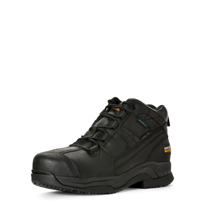 Contender Waterproof Steel Toe Work Boot