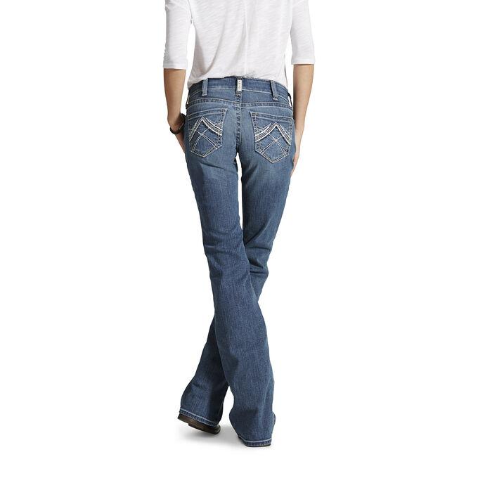 Women's Western Bootcut Jeans - Medium Wash