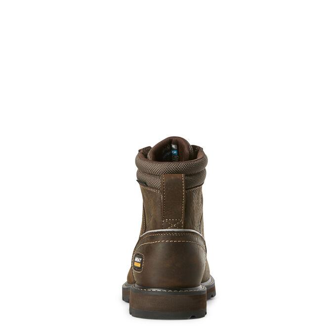 "Groundbreaker 6"" II Waterproof Steel Toe Work Boot"