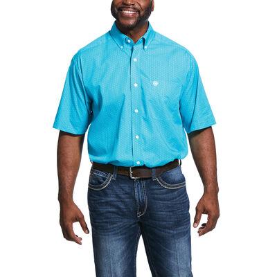 Wrinkle Free Ulvaro Print Classic Fit Shirt