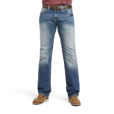M7 Rocker Stretch Garrison Stackable Straight Leg Jean