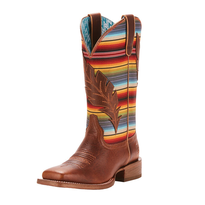 Circuit Feather Western Boot
