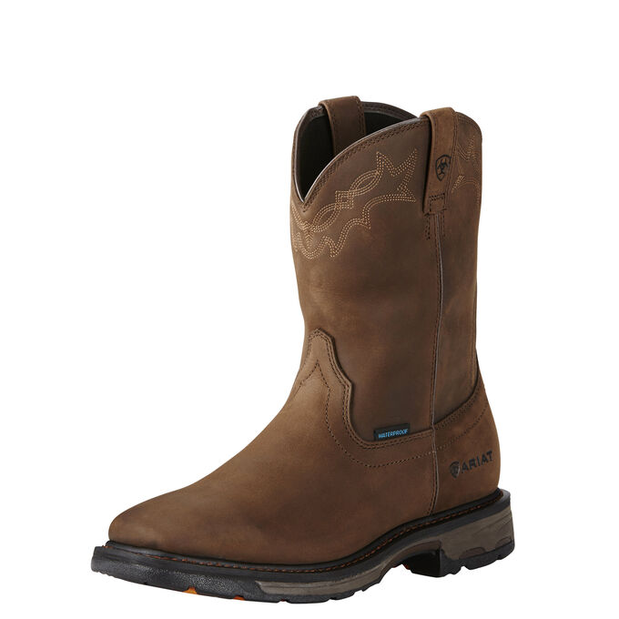 WorkHog Wellington Waterproof Work Boot