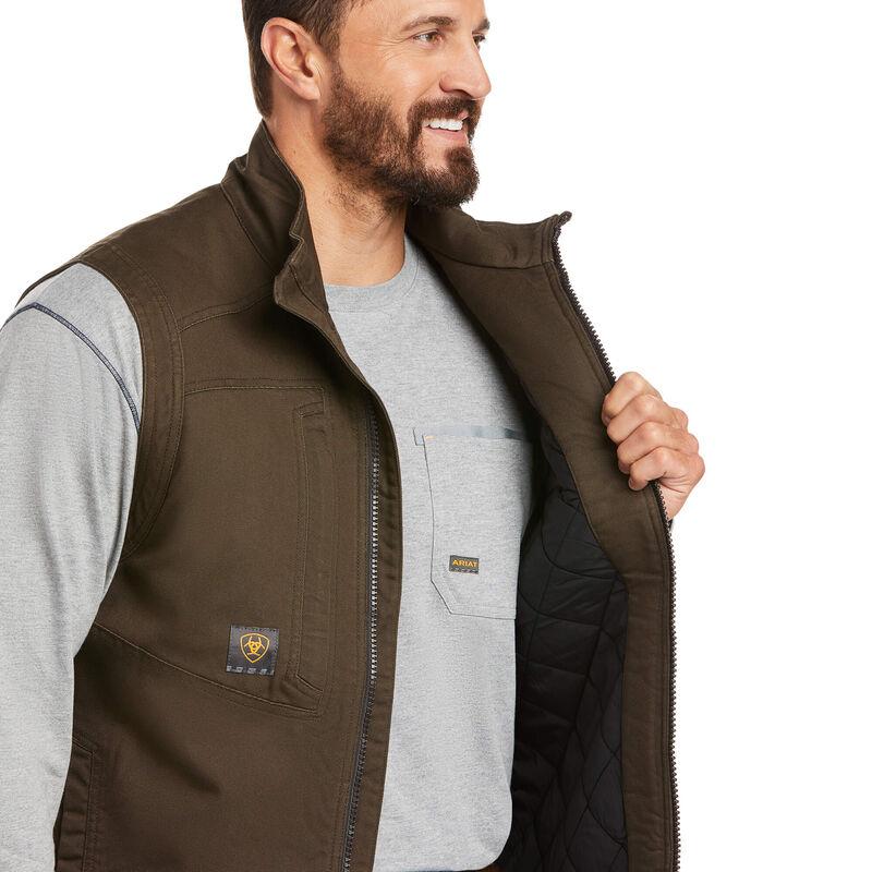 Rebar Washed DuraCanvas Insulated Vest