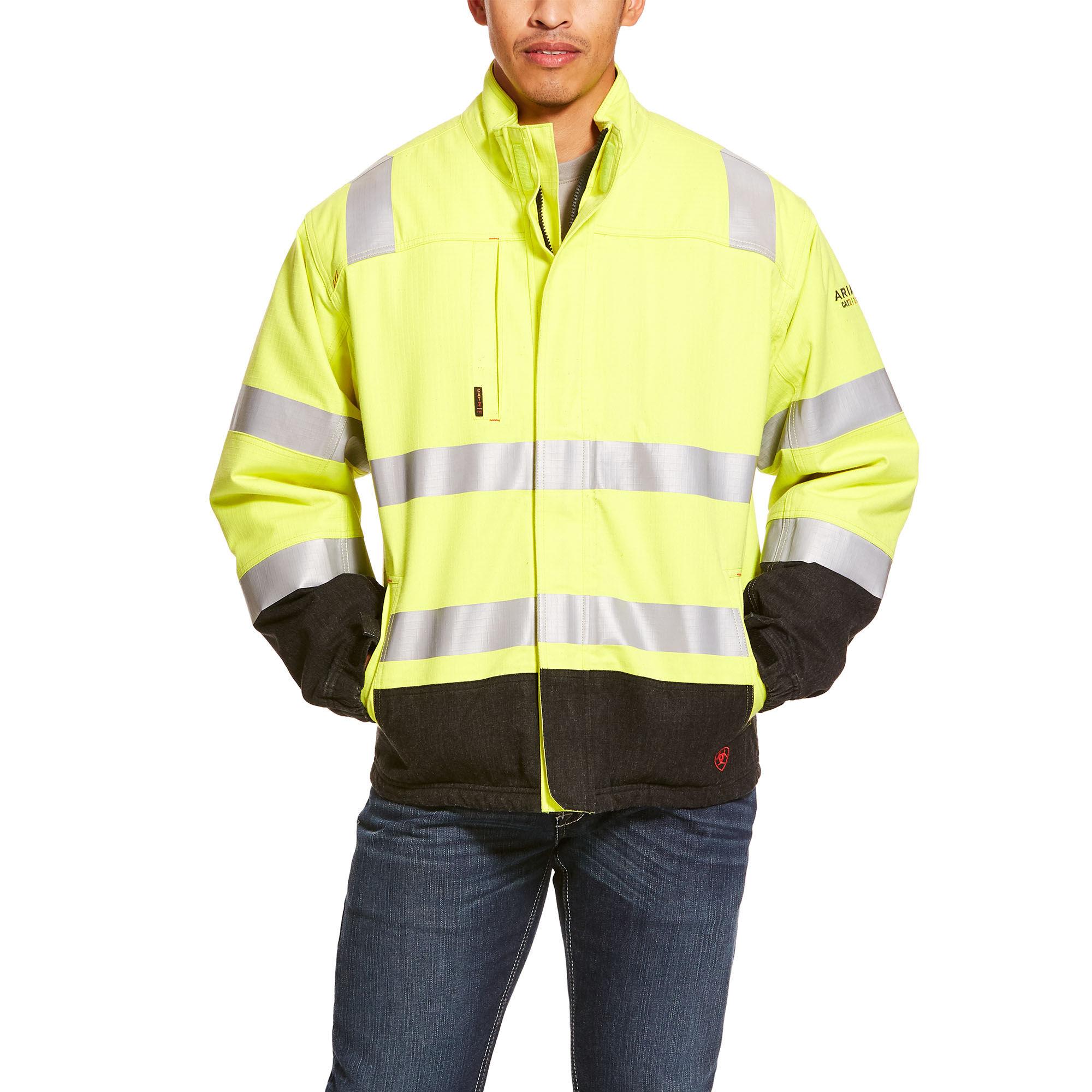 FR Hi-Vis Waterproof Jacket