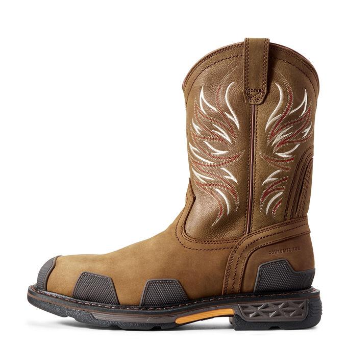 OverDrive Wide Square Toe Composite Toe Work Boot