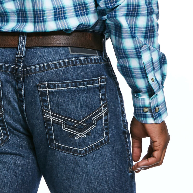 M4 Low Rise Hooper Cooling Stackable Straight Leg Jean