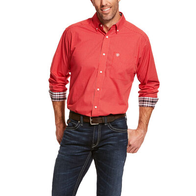 Wrinkle Free Clawson Classic Fit Shirt