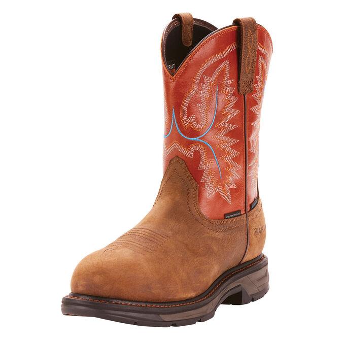 WorkHog XT Waterproof Carbon Toe Work Boot