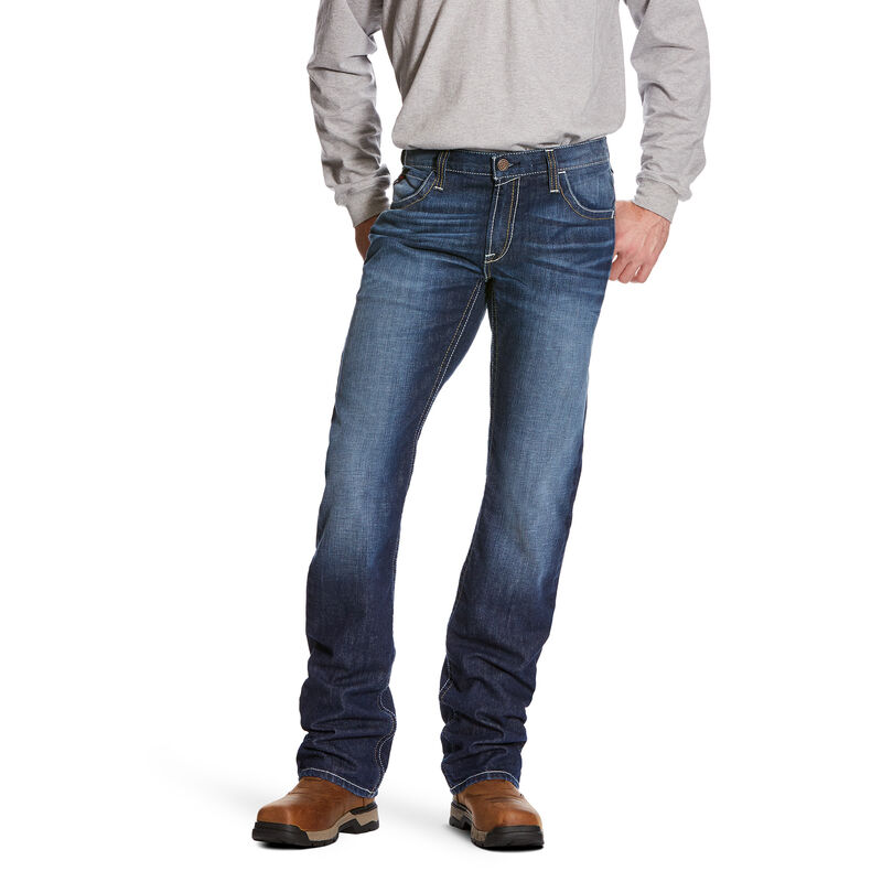 FR M5 Slim DuraStretch Truckee Stackable Straight Leg Jean
