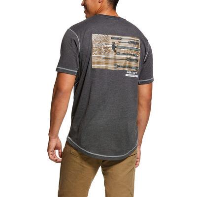 Rebar Workman Technician Graphic T-Shirt