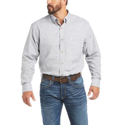 Solid Slub Classic Fit Shirt