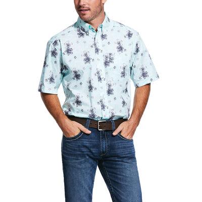 Granada Print Stretch Classic Fit Shirt