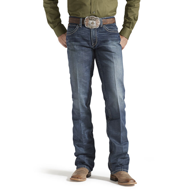 M5 Slim Boundary Stackable Straight Leg Jean
