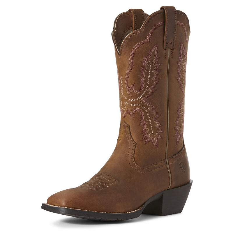 Hybrid Rancher Crossfire Western Boot