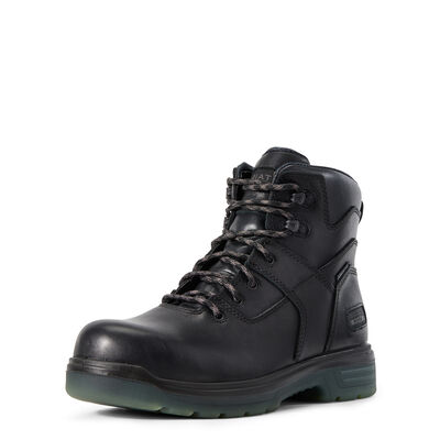 "Turbo 6"" Side Zip Carbon Toe Work Boot"