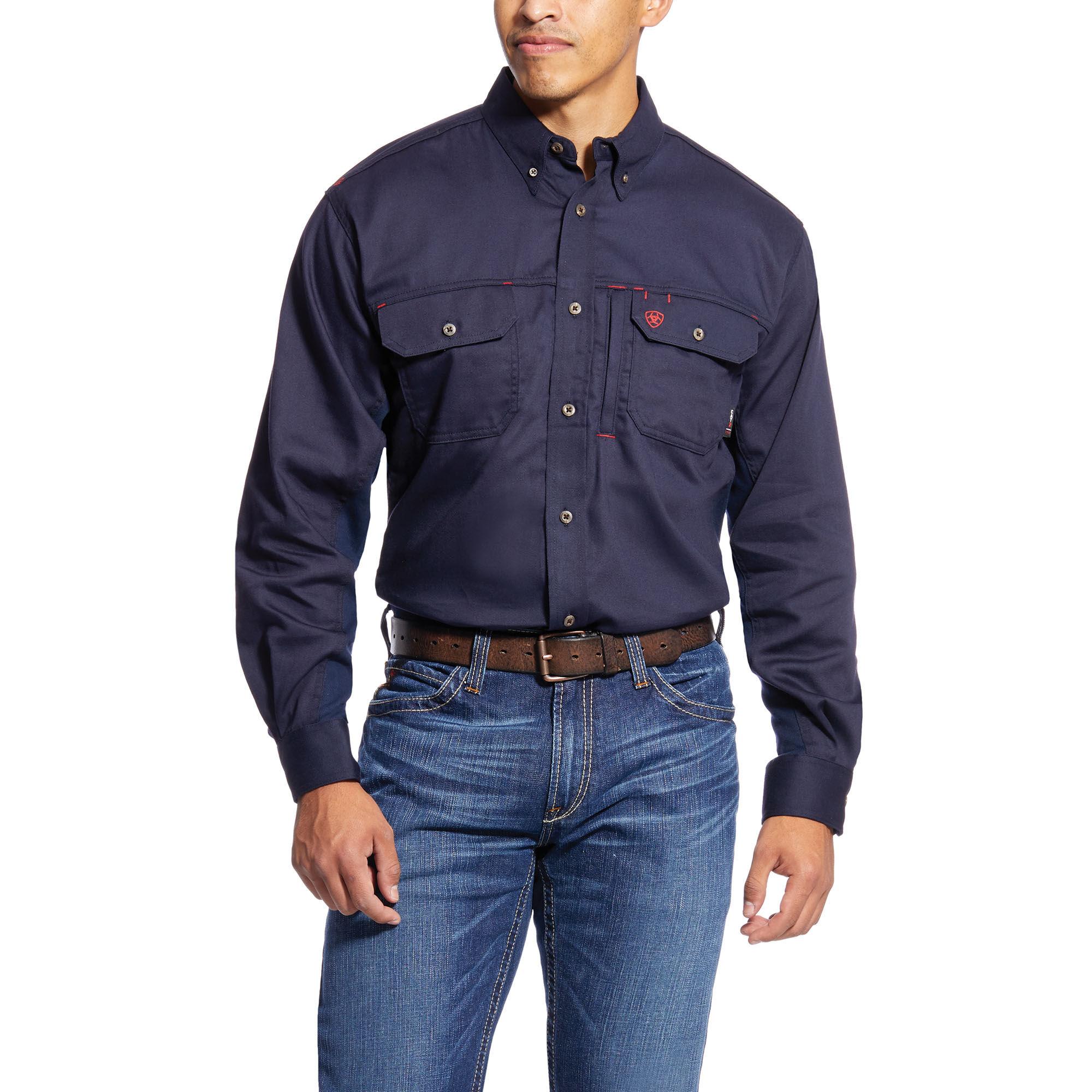 FR Solid Vent Work Shirt