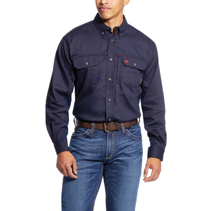 3a679c26c504 Images. FR Solid Vent Work Shirt
