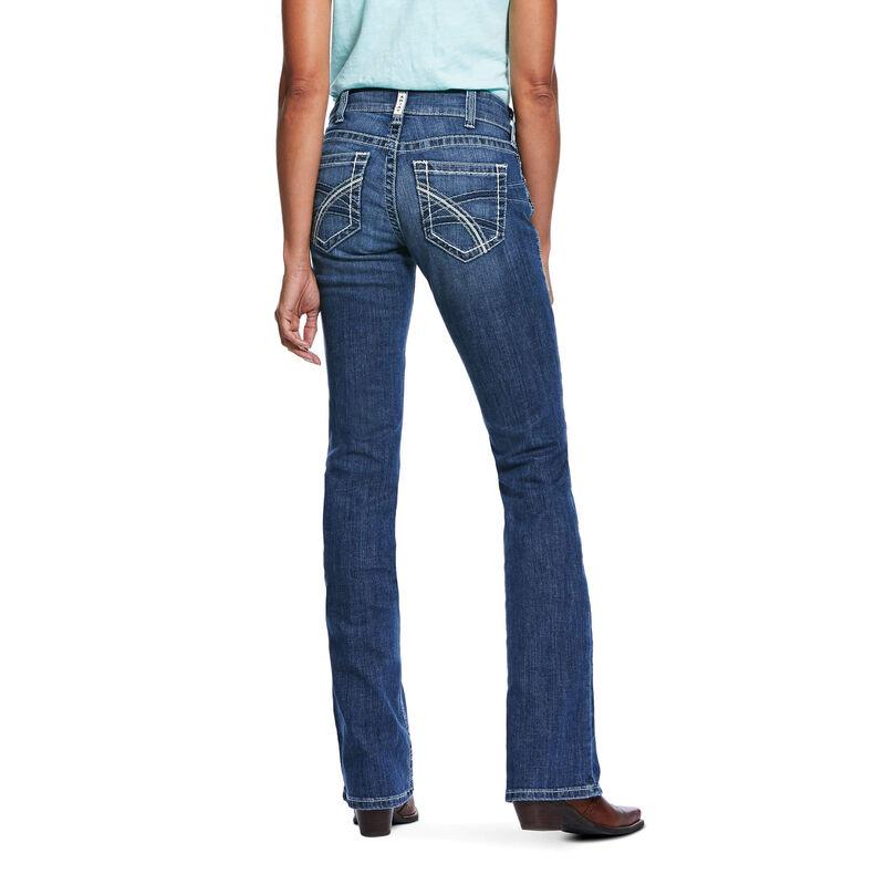 R.E.A.L. Mid Rise Stretch Hannah Boot Cut Jean