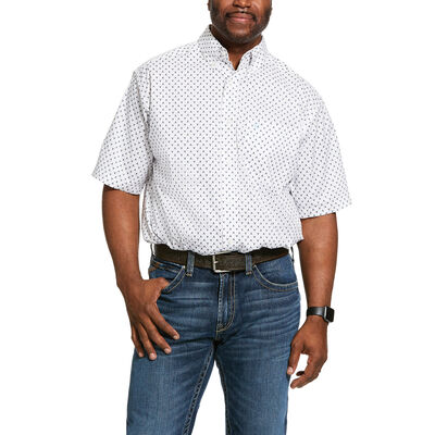 Napden Print Stretch Classic Fit Shirt