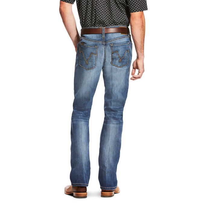 M4 Low Rise Single Arch TekStretch Boot Cut Jean