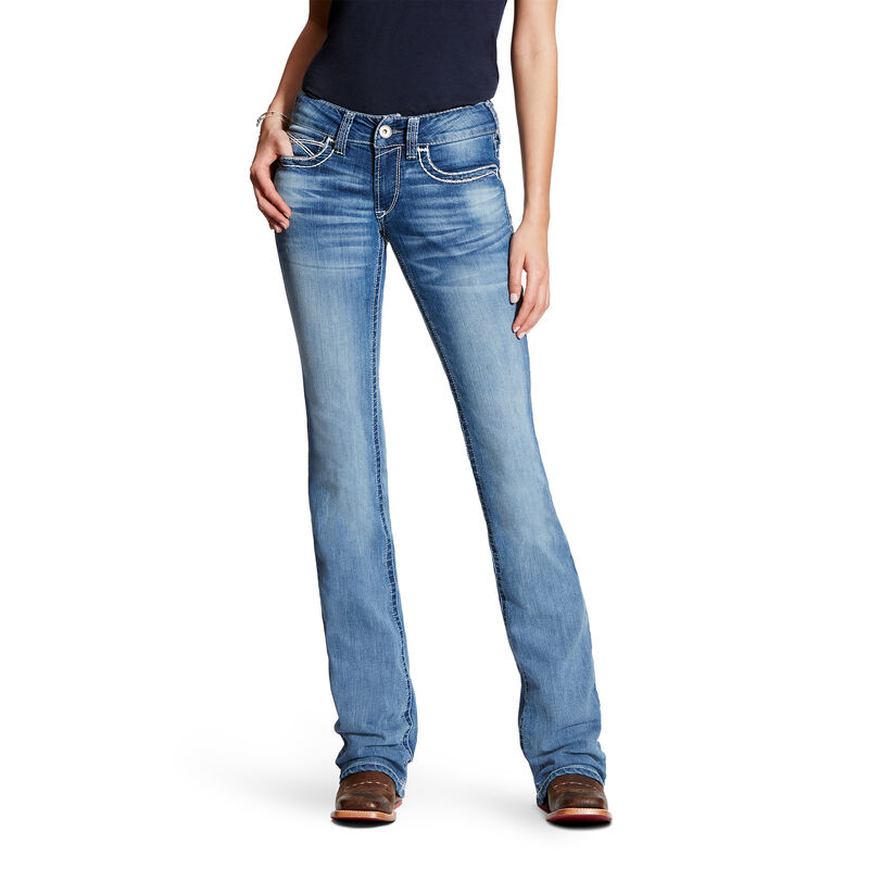 R.E.A.L Mid Rise Heirloom Boot Cut Jean