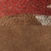 BROWN BOMBER/RUST GEO PRINT